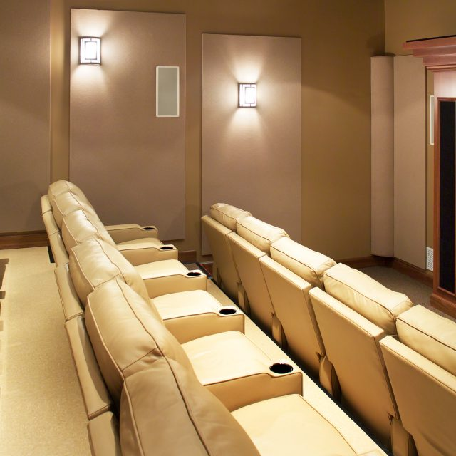 small resident hall theater at Monmouth College's Gracie Peterson Hall