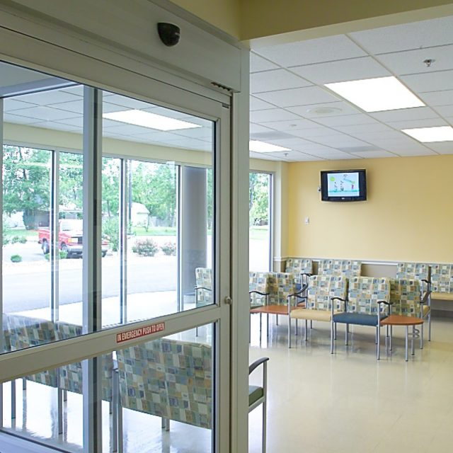 Waiting area at Massac Memorial Hospital