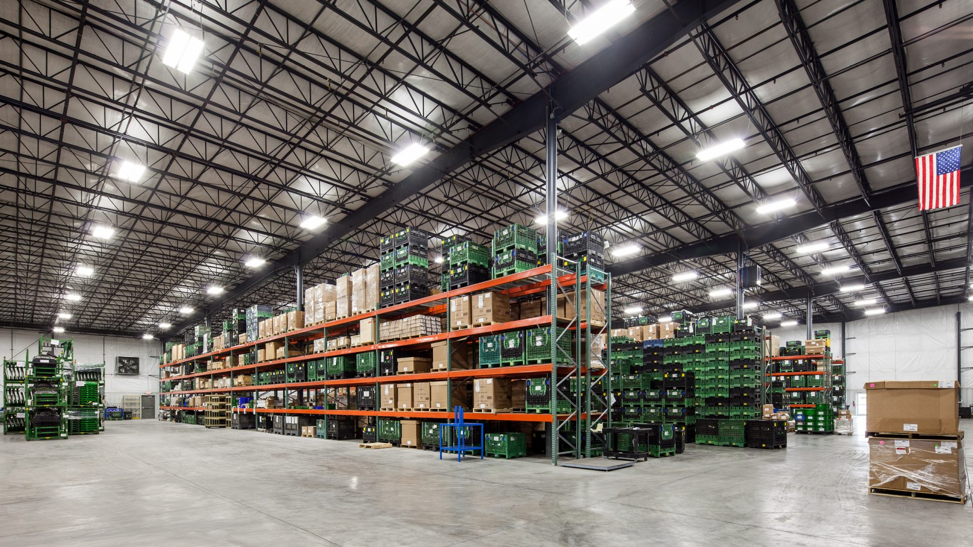 World Class Industries storage warehouse