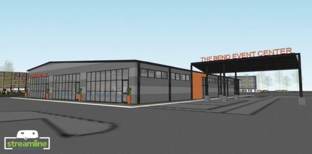Rendering of the Bend Event Center that will open in 2019