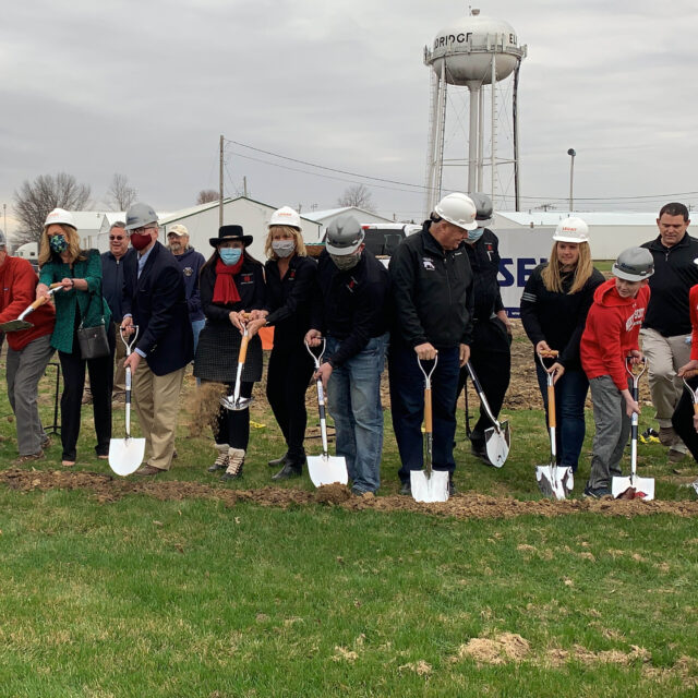 Group breaking ground at YMCA site